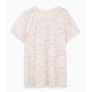 🆕🦩White Pink Flamingo Triblend Jersey Vintage Tee T-Shirt 2X 18 20 NWT Torrid